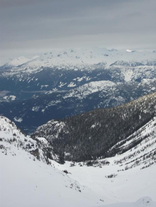 View_down_glacier