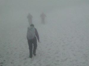 Nich in Ben Nevis snow